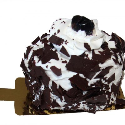 Black Forest Macaron Cake